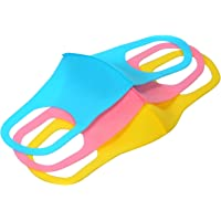 Face Sheild Eastdall Children Reusable Half Face Sheild Kids Breathable Washable Mouth Sheild Pack with Earloop for Dust Fog Pollen Allergy Woodworking Mowing Outdoor Activities 3PCS/Pack