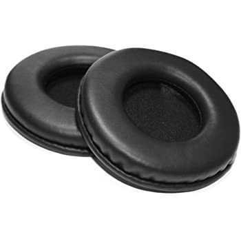 Replacement Earpad Cover Cup Pads Cushion for Sony MDR-V700DJ V700 DJ MDR-V500DJ V500 DJ Pioneer HDJ1000 HDJ2000 HDJ1500 Black