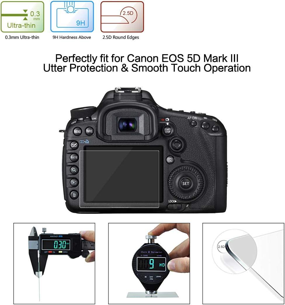 GGs Iii Lcd Protector De Pantalla De Cristal Para Canon 550 Vidrio Pantalla Canon T2i