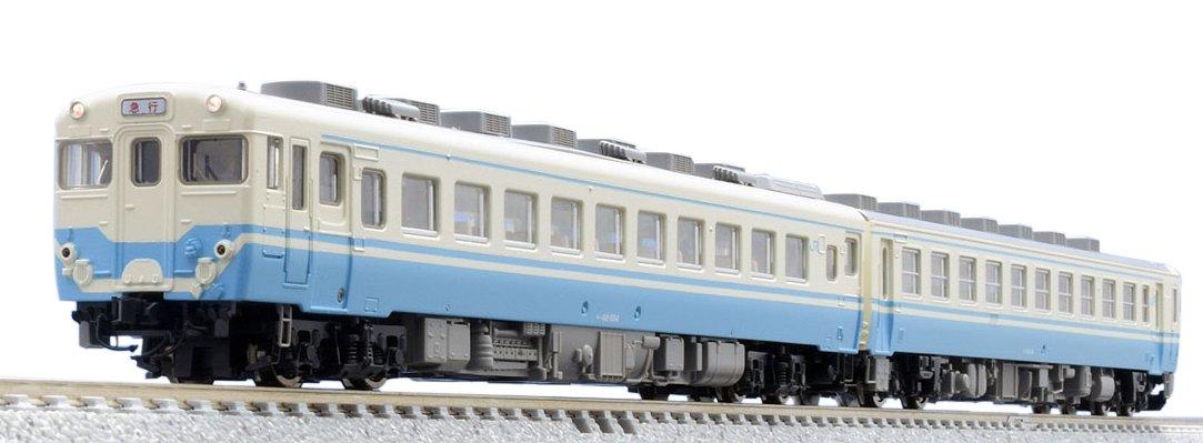 TOMIX Nゲージ キハ58系急行ディーゼルカー よしの川  JR四国色 セット 2両 98044 鉄道模型 ディーゼルカー B074P2SW9G