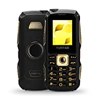 "YUNTAB C12 Phone for Seniors, Cell Phone,1.77"" Screen, GSM 2G, Dual SIM Standby,Support SD Card up to 16GB (Black, C12)"