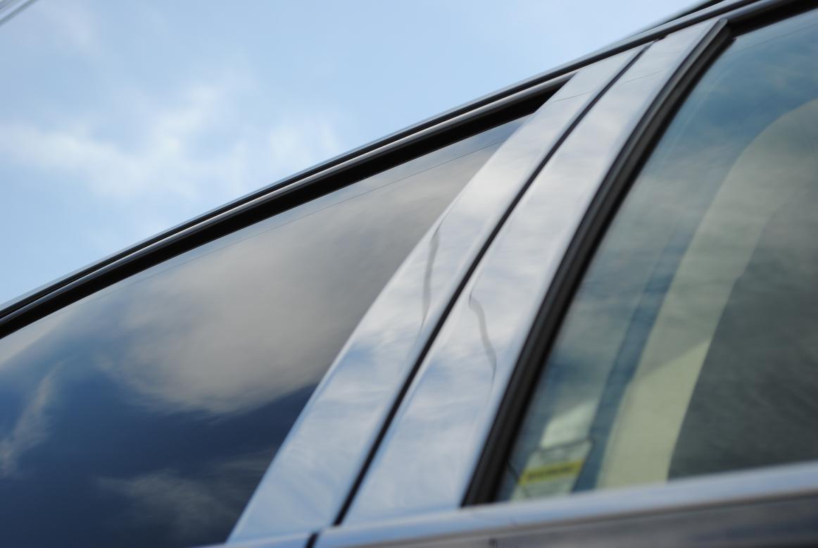 HYUNDAI Accent Exterior Stainless Steel Chrome Pillar Posts Trim Set 2012 2013 2014 2015 2016 2017