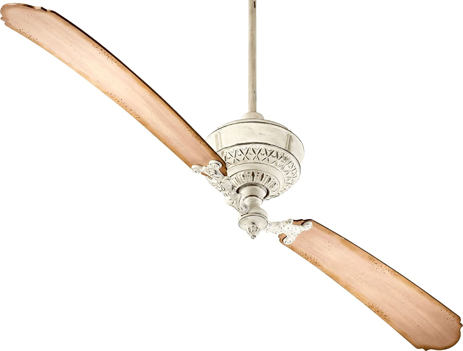 Quorum International 28682-86 Turner 2 Blade Fan, 68', Oiled Bronze 68 Lumtopia--DROPSHIP