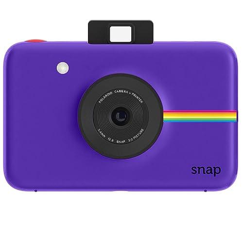 Polaroid Snap Instant Digital Camera (Purple) with Zink Zero Ink Printing Technology