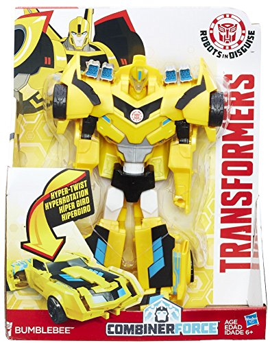 Transformers Robots in Disguise 3-Step Changers Bumblebee Figure(Discontinued by -