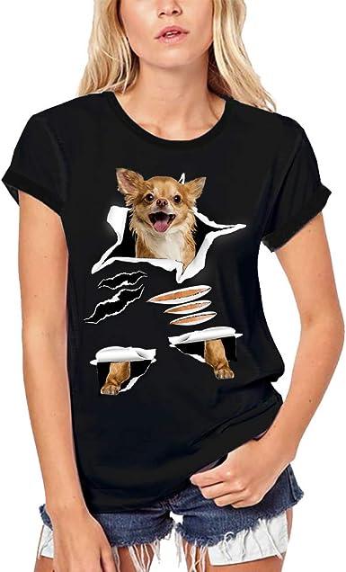 Ultrabasic Camiseta orgánica de Mujer Chihuahua - Chihuahueño ...
