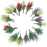 100 Piezas Modelos De Plantas Multicolores Modelos De