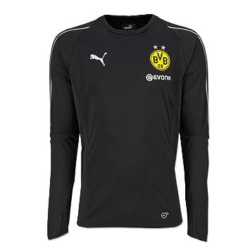 new styles 4a1fd e6737 PUMA 2018-2019 Borussia Dortmund Long Sleeve Training ...