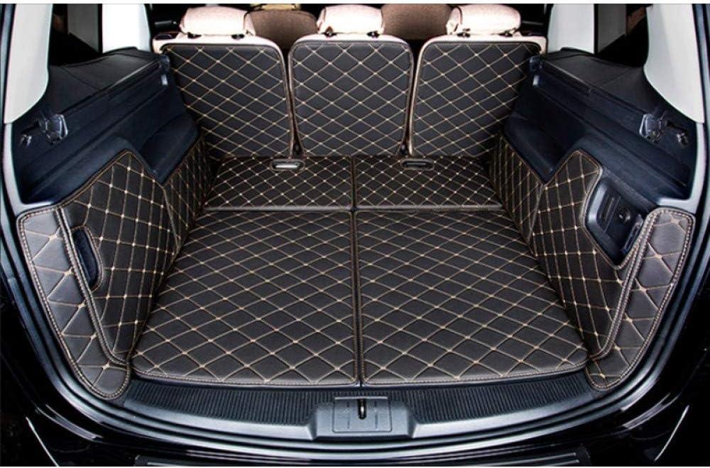3 fila di sedili chiusi Frogum Tappetino per bagagliaio Seat Alhambra 7 posti 2010-2018