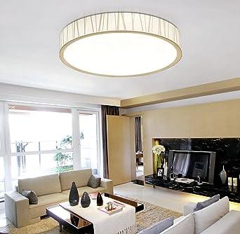 Jingzou LED Modern Decke Warm Raumlampe Wohnzimmer Lampen Schlicht ...