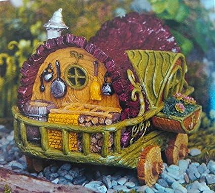 Georgetown Home U0026 Garden Fairy Garden Gypsy Wagon