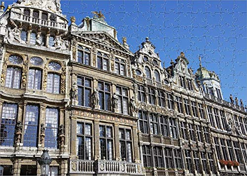 Media Storehouse 252 Piece Puzzle of Row of Houses at The Grand Place (11996466) Brussels Grand Places House