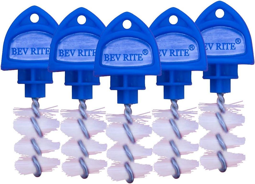 15 Pack Bierdorf Beer Tap Plug Brush 2018 UPGRATED Beer Faucet Brush Plugs