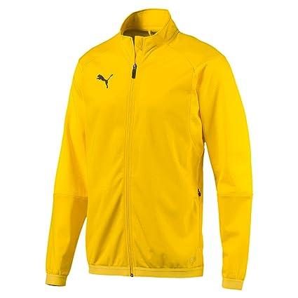 1e6e625c5 Puma Liga Training Jacket Chaqueta, Hombre, Amarillo (Cyber Yellow Black),  2XL