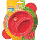 Nuby UK Sure Grip Miracle Section Plate, Assorted Colours