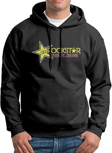 Factory Effex Unisex-Adult Rockstar Blackstar Hooded Sweatshirt Black, Medium