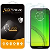 (2 Pack) Supershieldz Designed for Motorola (Moto G7 Power) Tempered Glass Screen Protector, 0.33mm, Anti Scratch, Bubble Fre