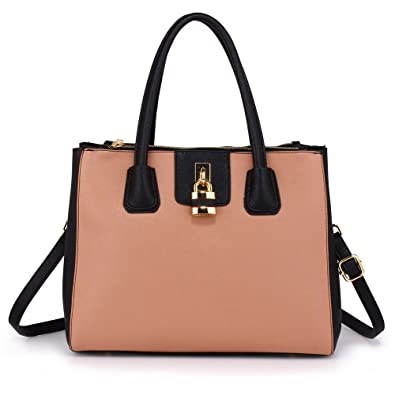 83ee3639f0a Tote Shoulder Handbags Ladies Faux Leather Handbags Large Womens Designer  Bags Tote Shoulder Top Handle Stylish