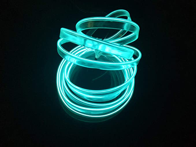Usb neon el wire per costume festival cosplay decorazione