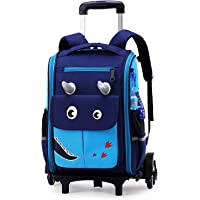 Mochila Escolar Trolley Niña y Niños con Ruedas Mochilas con Ruedas Pequeña Guardería Mochila Bolsas Escolares de…