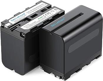 2-Pack SmilePowo Sony Camera Battery