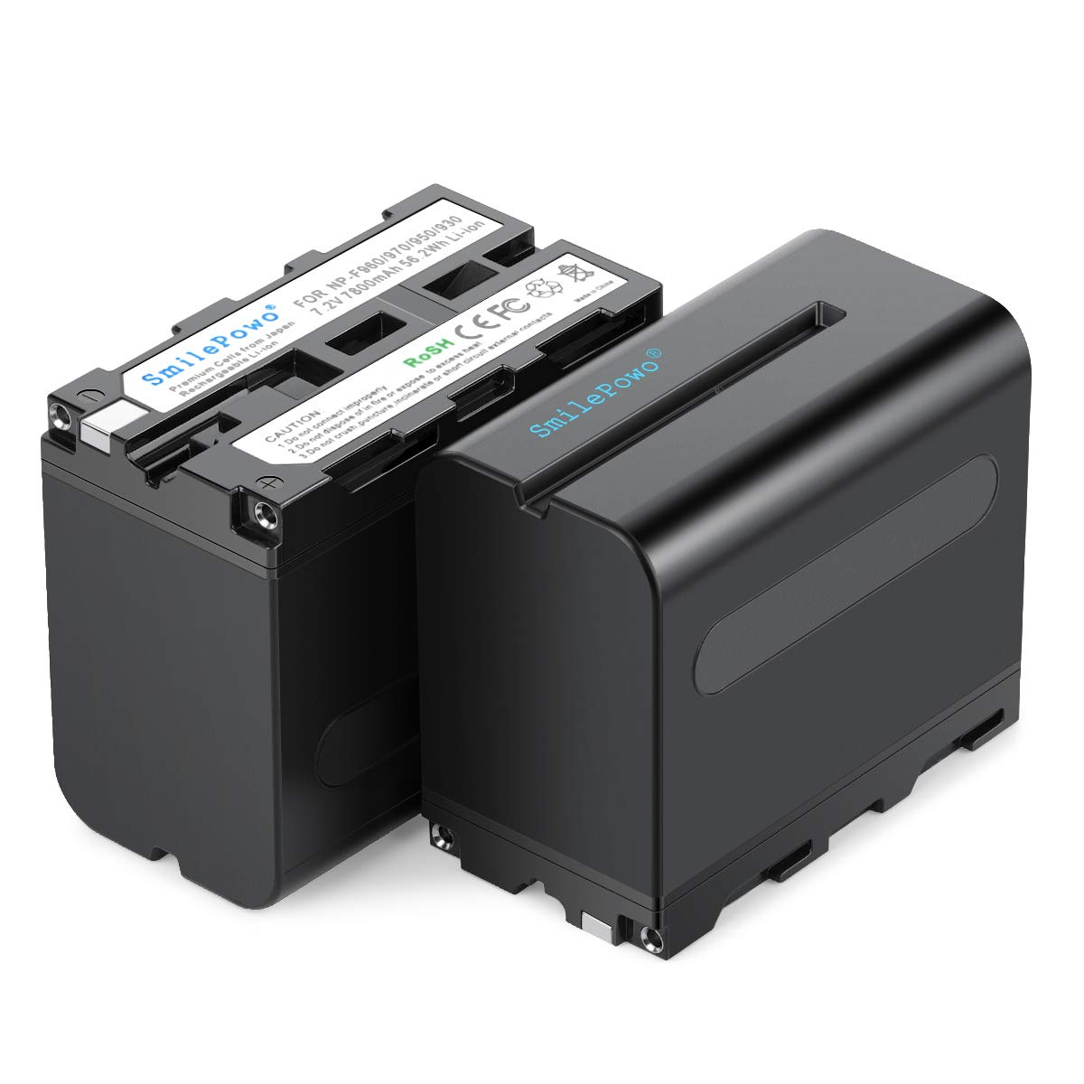 Bateria 7800mAh 7.2 para Sony NP-F975 NP-F960 NP-F550 [2un.]