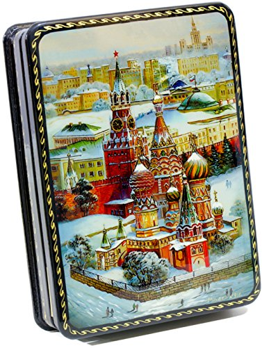 Russian Lacquer Miniatures (Russian Lacquer Miniature - Jewelry Trinket Box - Russian Fairytales