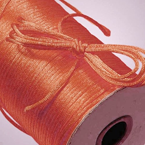 - Ben Collection 2mm X 100 Yard Rattail Satin Nylon Trim Cord Chinese Knot (Coral)