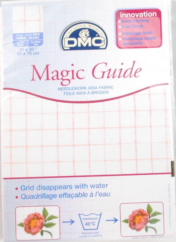 Threads & Fabrics - DMC - DMC 14 count Magic Aida Ecru DC28MG ECRU