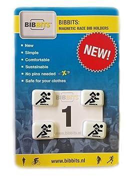 BibBits - Dispositivo de sujeción de dorsales deportivos (magnético, disponible en 7 colores): Amazon.es: Deportes y aire libre