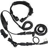 Baofeng VOX Headset Throat Mic Earpiece UV-5R UV-5RA Plus UV-5RB 888S 777S 666S Two Way Radio