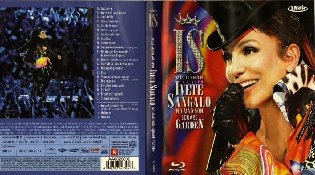 NO GARDEN BAIXAR SQUARE IVETE MADISON DVD DA SANGALO