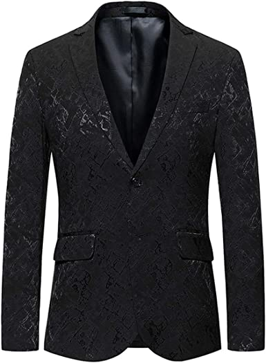 Men/'s Coats Male Jackets Evening Printed Blazers Fashion Party Coats Suits