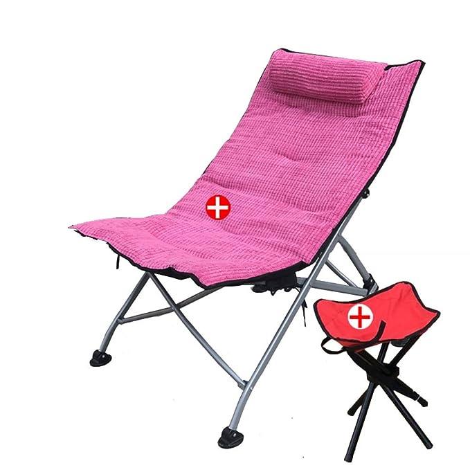 Amazon.com: L & J tumbonas, sillas plegables portátil para ...