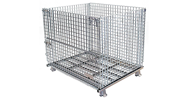 Wire Mesh Container 42h X 48w X 40d Service Carts Amazon Com Industrial Scientific