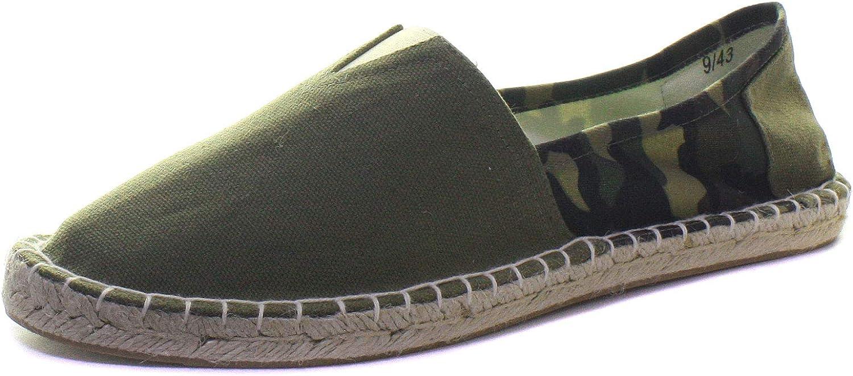 Dunlop Mens Camouflage Canvas Espadrilles//Slip On Shoes