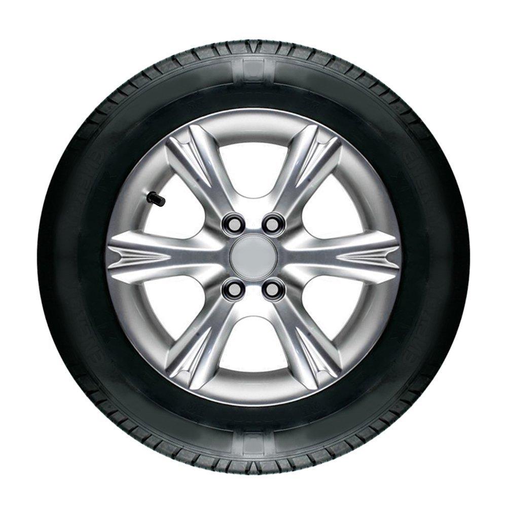 4PCS Tapas de Valvula de aire de rueda de neumaticos de aluminio para coche bicicleta