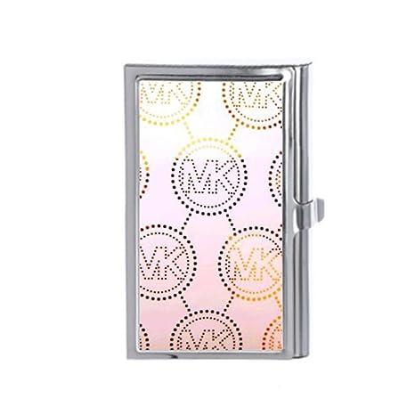 Michael Kors MK Custom titulares de tarjetas de negocios – – Cartera de tarjeta de Crédito