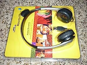 Amazon.com: Rosetta Stone USB Headset Microphone
