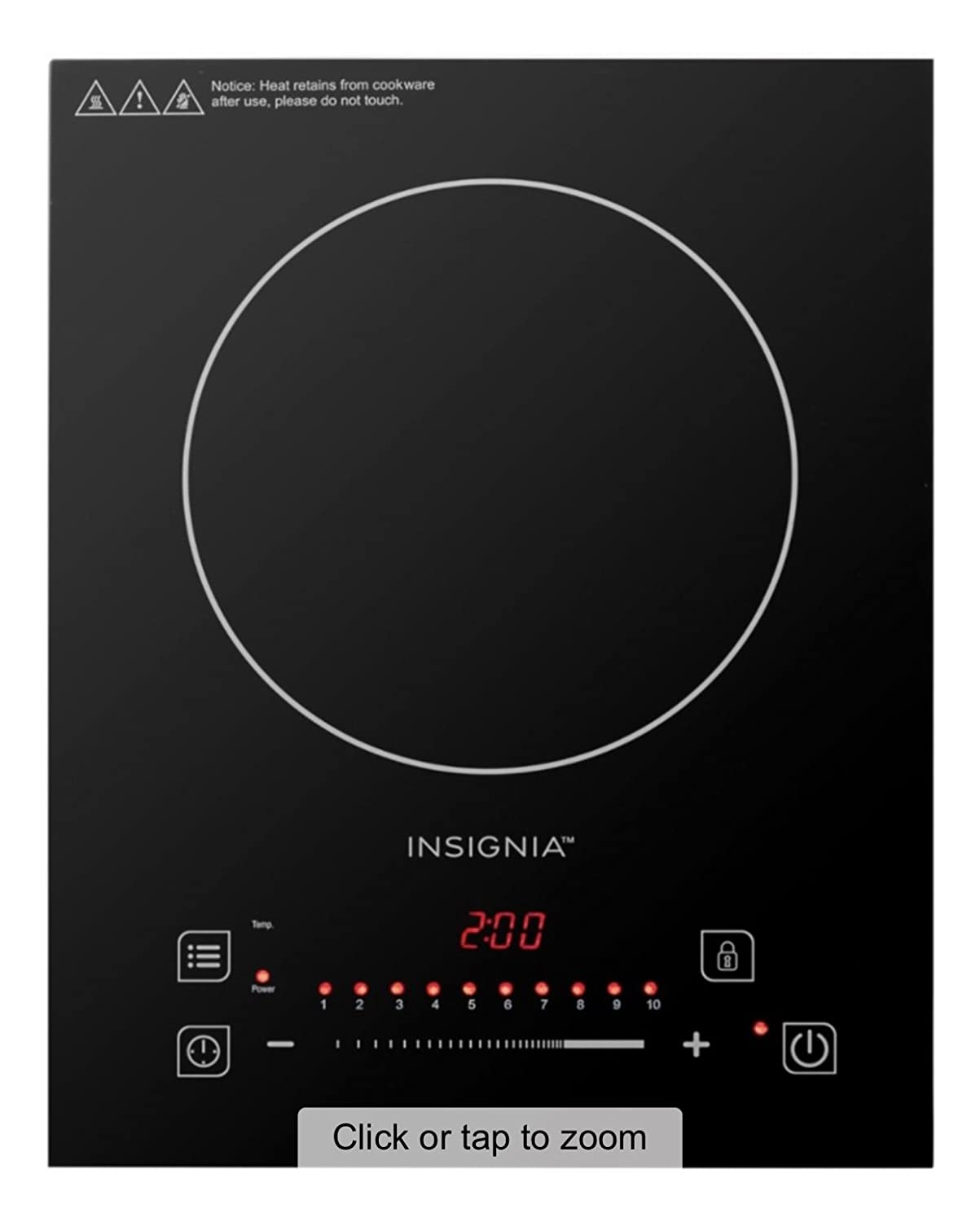 Insignia NS-IC1ZBK8 11.4 Electric Induction Cooktop
