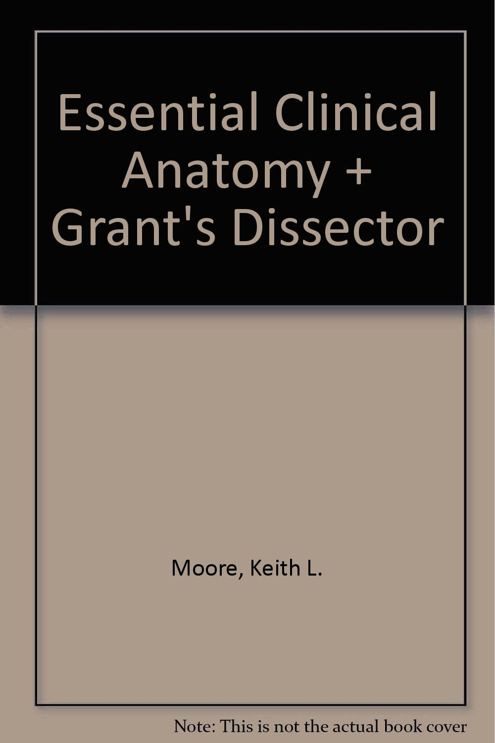 Old Fashioned Clinical Anatomy By Moore Collection - Human Anatomy ...