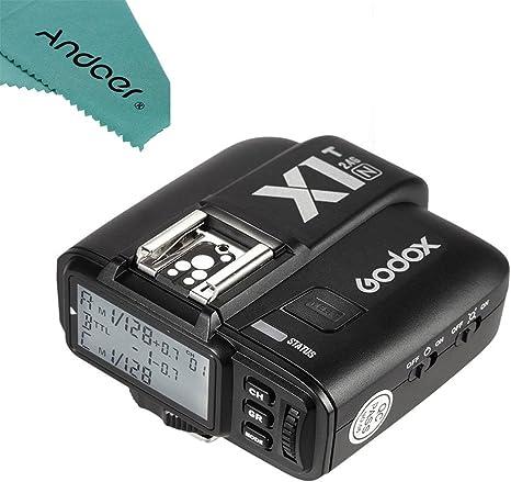 Godox AD200 200Ws TTL 2.4G HSS 1//8000 Flash Strobe Speedlight with X1T-N Wireless Flash Trigger Transmitter for Nikon DSLR Camers