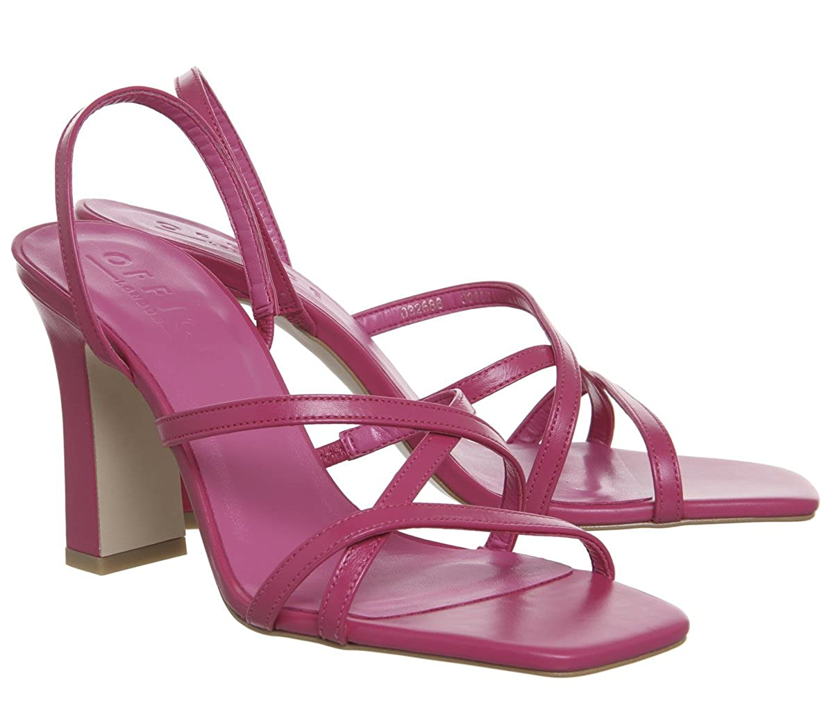 ba06502d2c Office Mariah Square Toe Strappy Sandals: Amazon.co.uk: Shoes & Bags