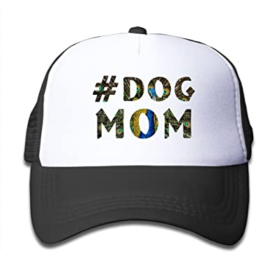 Xinghui Summer Kid's Dog Mom Snapback Cap Mesh Hat Child Baseball Hat Adjustable Fashion Cap for Boy Girl Gift