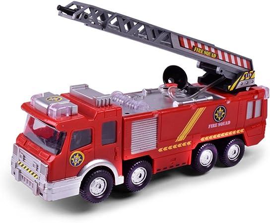 Faironly Simulation Mini Camion De Pompier Modele Avec Omnibearing