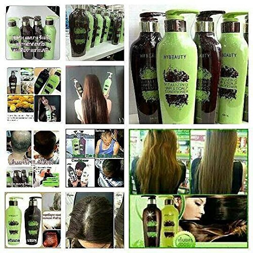 4 bot of Hybeauty Vitalizing Hair & Scalp Shampoo and Conditioner 300 ml.with tracking & gift by bluedragon120vk (Image #6)