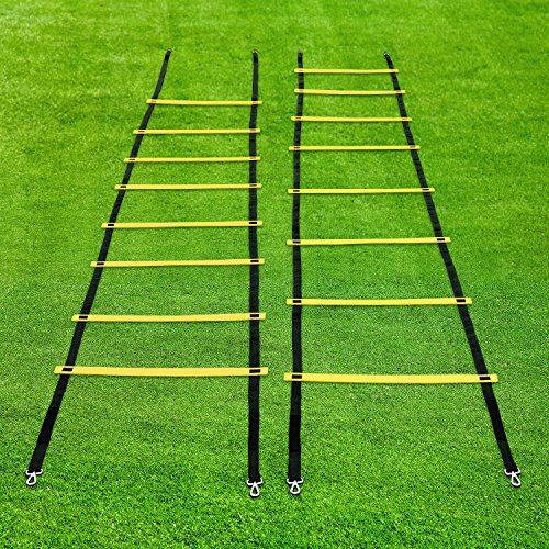 Training Agility Ladder Lucco Speed Agility Ladder With