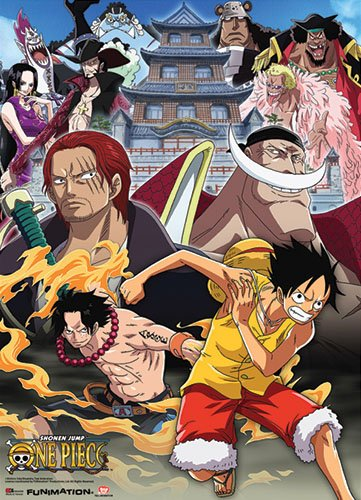 One Piece Wallscroll Anime Posters