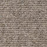 House, Home and More Indoor/Outdoor Carpet with Rubber Marine Backing - Brown 6' x 15' - Carpet Flooring for Patio, Porch, Deck, Boat, Basement or Garage
