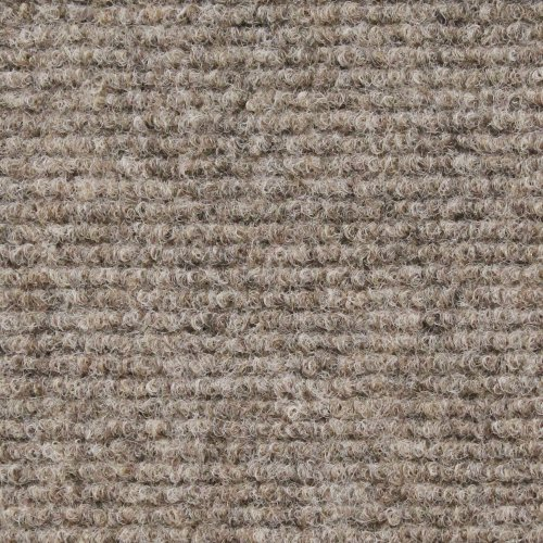 - House, Home and More Indoor Outdoor Carpet with Rubber Marine Backing - Brown - 6 Feet x 10 Feet